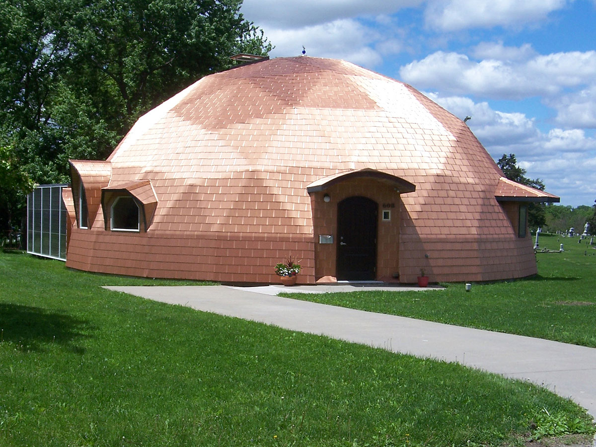 superinsulated geodesic dome house for sale 169 000