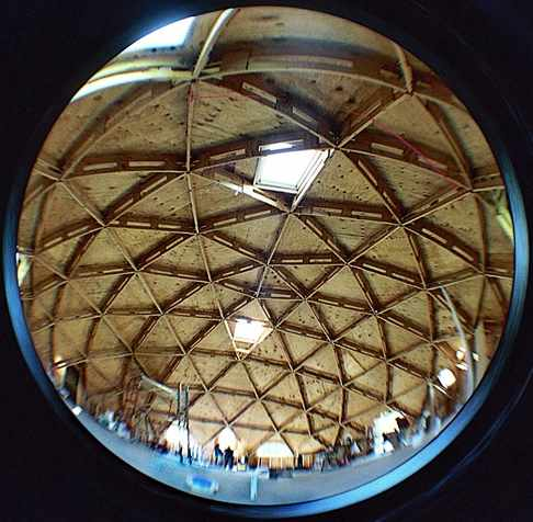 Fisheye View of Dome Interior