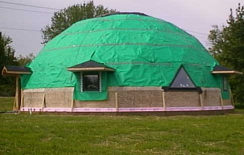 Building The Superinsulated Geodesic Dome