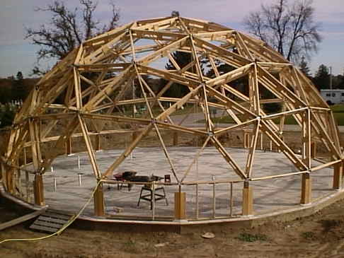 Geodesic dome planning and building for Geodesic greenhouse plans free